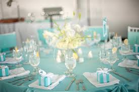round table decoration ideas blue wedding decorations ceremony and white flower centerpieces also wooden chairs for