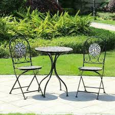 sofia mosaic bistro set garden