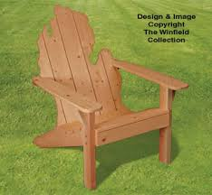 adirondack chair plans. Beautiful Plans Adirondack MICHIGAN Chair Plans On S