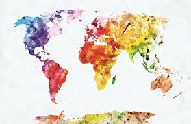 poster ikea picture frames world map