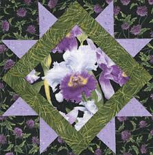Orchid Quilt Pattern - Best Flower 2017 & Orchid Rich Dramatic Colors Make This Quilt A Sure Winner Adamdwight.com