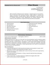 Non Profit Administrative Assistant Resume Sample New Administrative