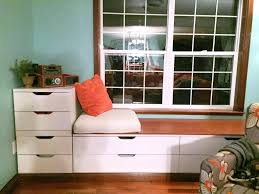 Window Bench Seat With Storage Plans Cushions Diy. Diy Window Bench Ikea  With Drawers Plans Seat Covers.
