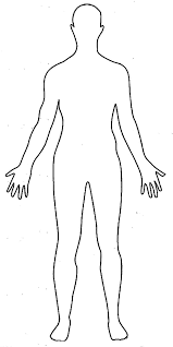 Human Outline Drawing Magdalene Project Org