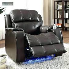 Recliner Chair With Cup Holder Toddler Leather  Chairs   And Storage L85