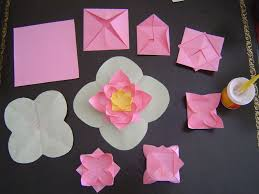 How To Make A Lotus Flower Out Of Paper How To Make Origami Lotus Flowers Step By Step Origami 2020