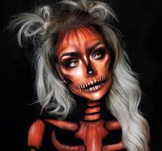 41 most jaw dropping makeup ideas that are still pretty devilish skull makeup
