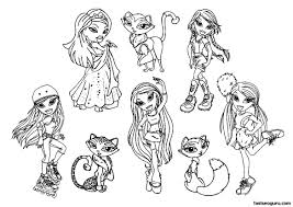 Small Picture Bratz Coloring Pages Ppinewsco
