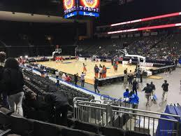 Vystar Veterans Memorial Arena Section 111 Basketball