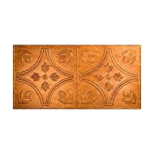 fasade traditional 5 2 ft x 4 ft glue up ceiling tile