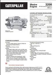 cat 3208 specs bolt torques manuals cat 3208 marine spec sheet