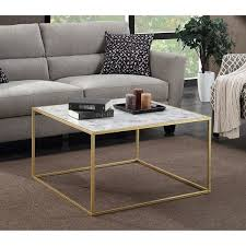 faux marble coffee table. Convenience Concepts Gold Coast Faux Marble Coffee Table N