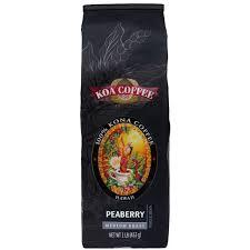 Hawaiian kona coffee beans are packaged while they are still warm. Kona Peaberry Medium Roast Whole Bean Coffee