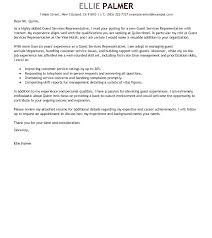 Customer Service Representative Cover Letter Sample Customer Service