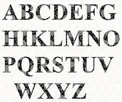 Templates Alphabet Letters Printable Alphabet Times Roman Font Template Pattern By