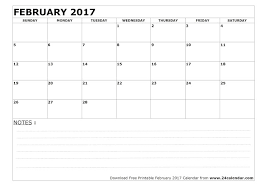 calendars with notes february 2018 calendar printable holidays pdf word get