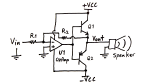 making an audio power amplifier drive a sub woofer electroboom power amplifier circuit