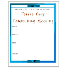 staff meeting flyer meeting notice template staff announcement invitation teran co