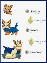 Herdier Evolution Chart Lillipup Hd Wallpapers Wallpaper Cave