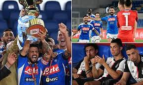 Ready to live it again! Napoli Win The Coppa Italia Final With Victory On Penalties Against Juventus Daily Mail Online