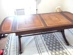 henredon coffee tables have a heritage drop leaf coffee table with a leather henredon coffee tables