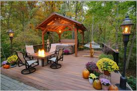 Backyard Decking Designs Enchanting Cool Deck Design Ideas To Improve Your Outdoor Living Space
