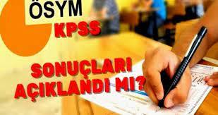 KPSS sonuçları 2021! KPSS sınav sonuçları açıklandı mı? 2021 lisans KPSS  sonuçları ne zaman açıklanacak? - Haberom