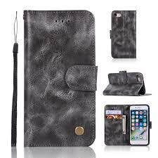 casing for apple iphone 6 plus 6s plus reto leather wallet case magnetic double