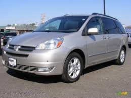 2004 Toyota Sienna XLE Limited in Silver Shadow Pearl - 078740 ...