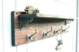metal and wood wall shelves shelf with hooks wall shelves image of wood wooden pegs peg metal and wood wall shelves