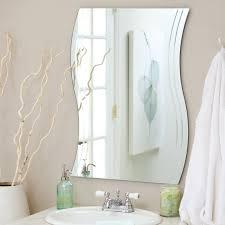 Bathroom Frameless Mirrors Frameless Mirrors