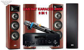 Dàn Hát Karaoke Gia Đình Rebel 800W Thông Minh Cao Cấp – Hát Ngọt Như Ru!