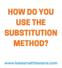 best algebra lessons ideas algebra help  need help solving a system the substitution method check out this algebra lesson