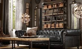 how to make a room look more masculine