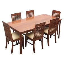 full size of chairs winsome teak dining tables and table regarding 6 seater twd 10 details
