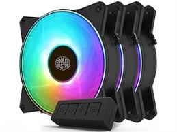 <b>Cooler Master</b> MasterFan <b>MF120R ARGB</b> 120mm Fan - 3 Pack + ...