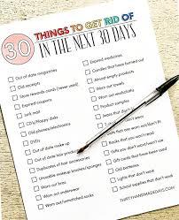 de clutter declutter your home checklist