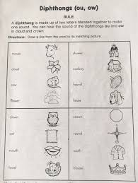 250 free phonics worksheets covering all 44 sounds, reading, spelling, sight words and sentences! Diphthong Ou Ow Worksheet