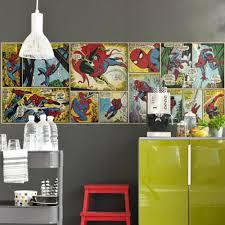 Marvel Wallpaper For Bedroom Spiderman Comics Wallpaper Great Kidsbedrooms The Children