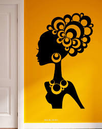 african ladies wall art