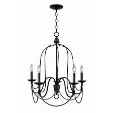 rivy west 5 light oil rubbed bronze chandelier with silver highlights