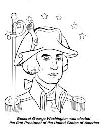 Small Picture General George Washington on Presidents Day Celebration Coloring
