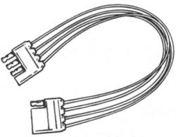 boat trailer wiring connectors com 4 wire quick connector boat trailer extension