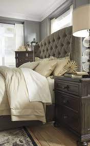 gerlane upholstered bed in queen king or california king signature design by ashley