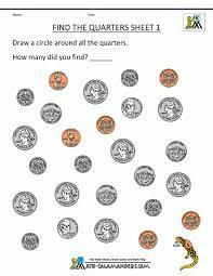 Mathets Kindergarten Coin Printable Canadian Money Counting Coins ...