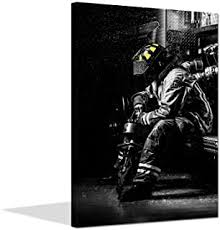 Best <b>Firefighter Canvas</b> Art of 2020 - Top Rated & Reviewed