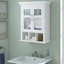 WYNDENHALL Hayes Two Door Bathroom Wall Cabinet with Cubbies in White -  Free Shipping Today - Overstock.com - 17761304