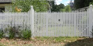 Picket Fence Double Gate Double Gate Picket Fence I Nongzico