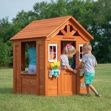 wooden garden view ez kraft assembly outdoor playhouse toys pretend play kids