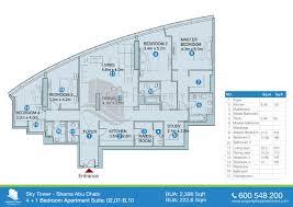 Gale Fort Lauderdale Preconstruction 1 Bedroom Floor PlanFloor Plan Plus
